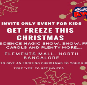 Get Freeze this Christmas